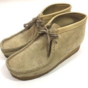 Clarks Originals Men's Leather Wallabee shoes